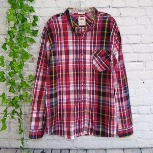 Levi's men's button down shirt XL